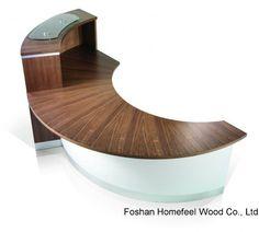 escritorio de recepcin elegante moderno del diseo hfr u escritorio de