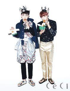 Korean Magazine Lovers (GOT7 - Ceci Magazine March Issue '14)