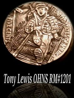 Hobo Nickel by Tony Lewis