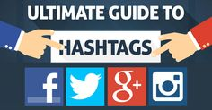 Wondering how to use hashtags on the major social networks? No problem. Here's an ultimate guide to hashtags on Twitter, Facebook, Instagram & Google+.