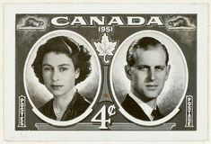 Canadadian 4 cent stamp.....1951