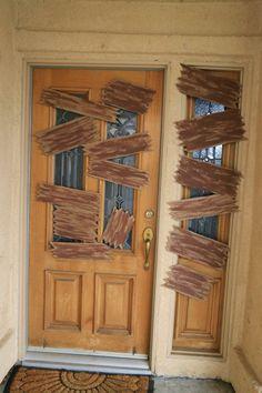 Walking Dead Party - Cardboard Wood Planks