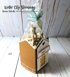 Water City Stamping: A Paper Pumpkin Thing Blog Hop - Jolly Gingerbread Paper Pumpkin, Paper Goods, Gingerbread, Stamping, Gift Wrapping, My Favorite Things, City, Water, Blog