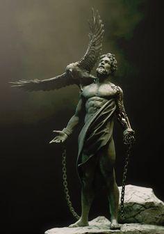 Prometheus - Greek Steampunk, Richie mason