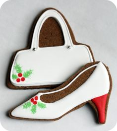Diva Claus Decorated Cookies | Sweetopia