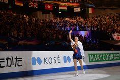 Mao Asada of Japan celebrates her gold medal after the victory ceremony during ISU World Figure Skating Championships at Saitama Super Arena...
