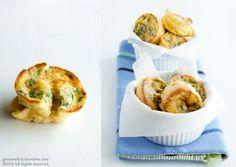 Mini Roquefort popovers