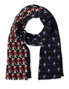 Oblong scarf Men's - RAF SIMONS