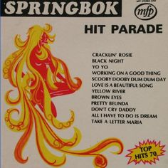Springbok Hit Parade LP's - soundtrack to my childhood in Cape Town, South Africa