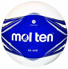 Molten FF-170 Soccer Ball (Blue/White, Size 3) Molten