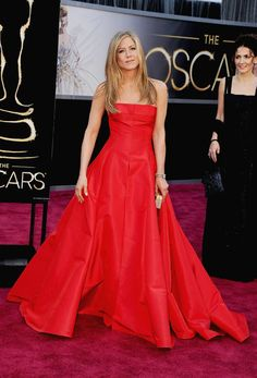 Jennifer Aniston at the Oscars, what a great dress !