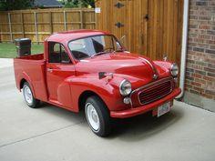 1967 Morris Minor red Pickup ute