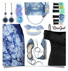 """""""Rosegal  24"""" by nejra-l ❤ liked on Polyvore featuring Gap, Valentino, Nine West, Monica Sordo, In Your Dreams, Summer, dress, promotion and rosegal"""