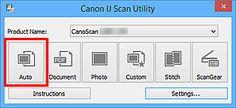 figure: IJ Scan Utility