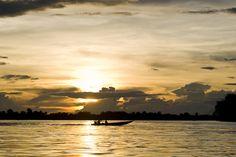 Navegando pelo histórico Rio Mekong