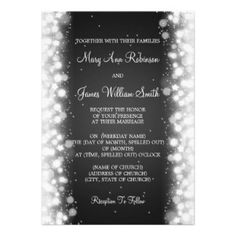 Winter Wedding Invitations, 5000+ Winter Wedding Announcements & Invites