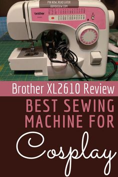 Brother XL2610 is designed to provide you with quality stitches without having to spend an outrageous sum of money. Ideal for moderate home use, this model has the added advantage of being extremely easy to use, which means that you'll be able to find your way around it, even if you've never used a sewing machine before! #sewingmachine #sewingmachinereview #cosplaytips #costuming #sewingcostumes #doyousew #sewingmachinereviews #bestsewingmachine #bestsewingmachines #brothersewing Easy Sewing Projects, Sewing Tips, Sewing Hacks, Sewing Ideas, Sewing For Kids, Free Sewing, Craft Cabinet, Brother Sewing Machines, Sewing Machine Reviews
