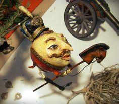 Ёлочная игрушка из папье-маше   ВКонтакте