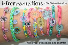 i loom a nations shrinky dinks DIY kit for by iloomanations, $12.99