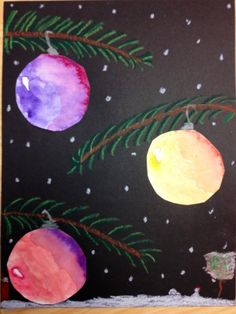 Christmas art projects, christmas art for kids, winter art projects,