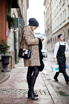 The slightly oversized, leopard-print coat has been a winter classic ever since Edie Sedgwick threw hers over a silver dress. And, ahem, our favorite fuzzy version just happens to be on over-half-off sale.