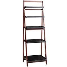 Pier 1 Imports Owsley 5-Tier Folding Shelf - A solid, handsome shelf to display my knickknacks. $229.95