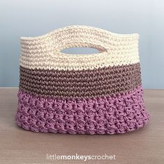 Huntley Gift Bag By Rebecca Langford - Free Crochet Pattern - (ravelry)