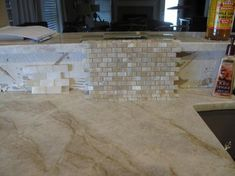 photo sonoma3_zps1649542e.jpg Taj Mahal with Annica Silk backsplash tile