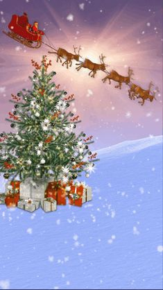 Christmas Tree Gif, Merry Christmas Animation, Merry Christmas Quotes, Christmas Humor, Xmas Photos, Holiday Pictures, Beautiful Christmas Scenes, Christmas Wallpaper Free, Xmas Wishes