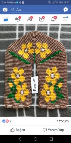 Pot Holders, Slippers, Knitting, Youtube, Cross Stitch Embroidery, Amigurumi, Hot Pads, Tricot, Potholders