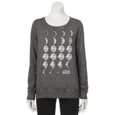Juniors'+Star+Wars+Death+Star+Graphic+Sweatshirt