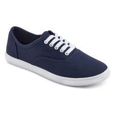 Women's Lunea Canvas Sneakers - Navy (Blue) 6
