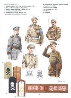 Esercito Imperiale Russo - Unità d'Elite 1917-1918