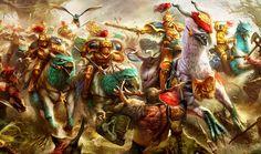 Stormcast Hippogryph Riders
