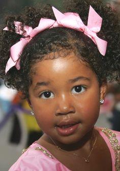 cute, Kimora Lee's & Russel Simmon's Little girl.