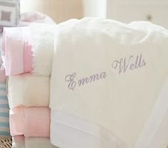 pottery barn baby blanket baby blanket pottery barn baby blanket  personalized .