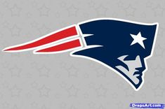 how to draw the patriots logo, new england patriots