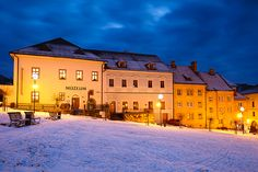 kremnica 'I by Milan Gonda Cityscapes, Milan, Mansions, House Styles, Image, Manor Houses, Villas, Mansion, Palaces