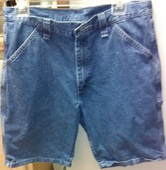 "MENS WRANGLER CARPENTER SHORTS Size 32""  #Wrangler #CarpenterUtility"