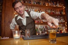Elliott Mealia, bartender at 1602 Dundas West