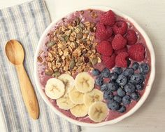 Acai, Berry and Baobab Breakfast Bowl