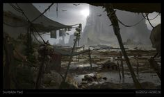 Shadow of Mordor - Concept Sketch, James Paick