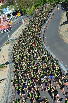 Nike We Run Jozi! 20 000 Runners took to the streets and took part in the 10km road running race.