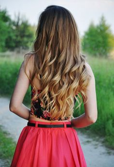 Repinned: Gorgeous loose curls for date night.