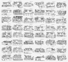 Fifty prefabs, by Harriet McDougall