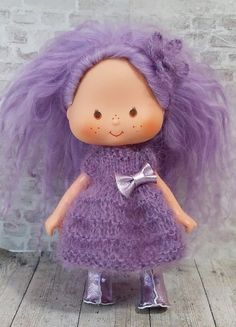 Pansy Potter custom mohair vintage Stawberry Shortcake by polly, £37.50
