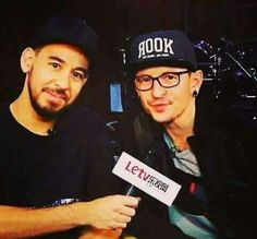 Chester and Mike ❤