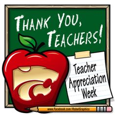 Teacher Appreciation K-State Powercat posted on my Robel Graphics Facebook page. Here's to all the teachers! Thank you for all you do! You may not always know how much of an impact you've had on the lives that pass through your classroom, but for some of us, your influence is a big part of who we are today. To all the teachers who have made a difference in my life through the years, Thank You!