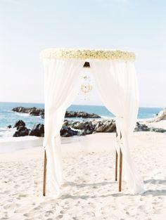 beautiful #beach #wedding #arbor http://trendybride.net/beautiful-beach-wedding-arbor-ideas/ featured on trendy bride blog