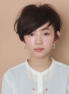 トップふんわり☆大人のショートレイヤー(髪型ショートヘア)